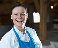 Emma Lawrenson, owner Holiday COokery COurses - cooking holidays, vacations, retreats & culinary courses