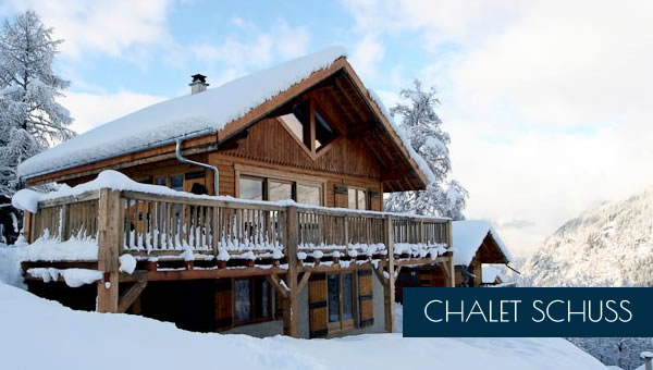 Cookery course accommodation at Chalet Caro